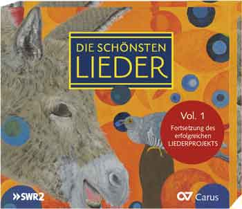 Die schoensten Lieder CD-VOL1 Cover
