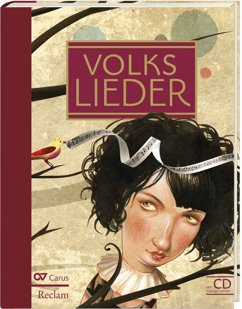 Volkslieder Buch Cover
