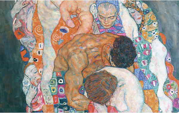 Illustration zu 'Remember me, my dear' von Gustav Klimt